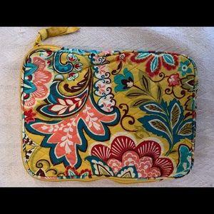 Ver Bradley iPad pouch/case